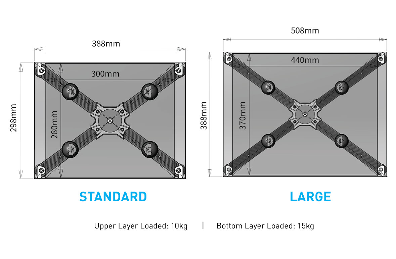 Audio Bastion X rack Desktop System Tempo Series